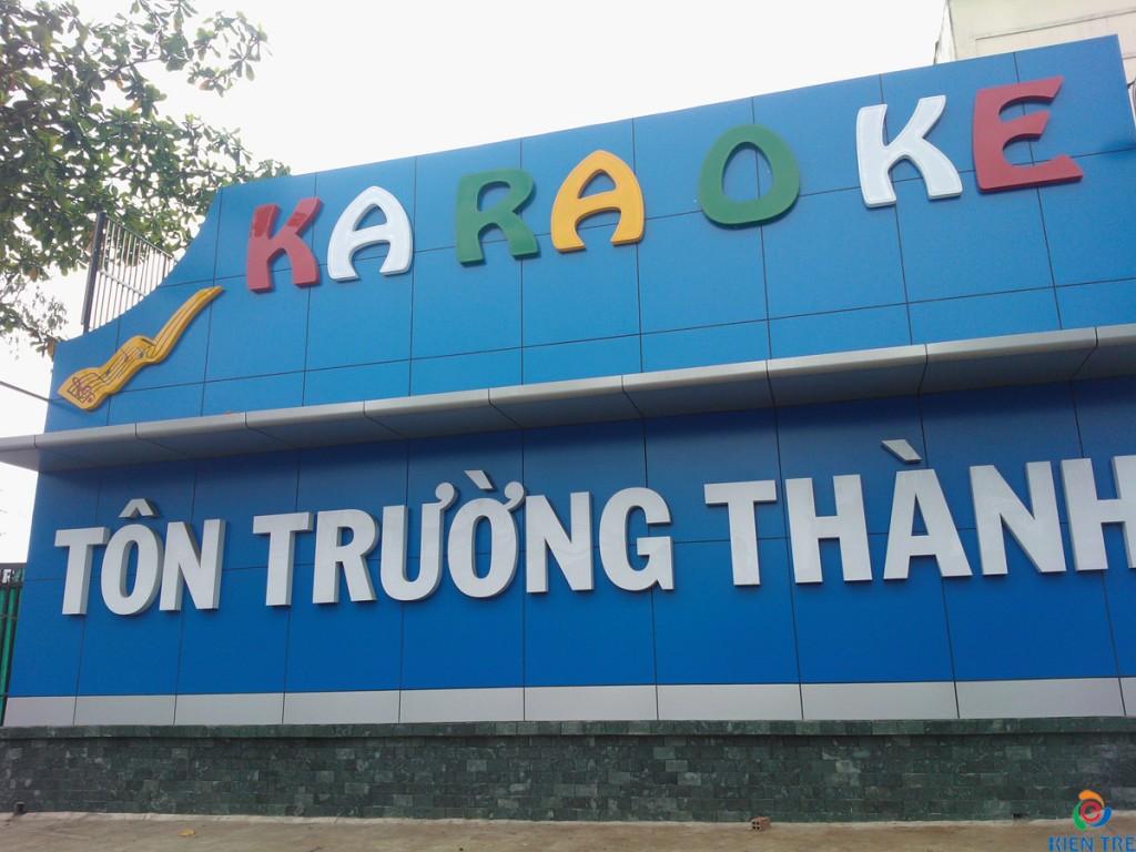 Làm biển quảng cáo Alu - Chữ nổi tại Ninh Bình