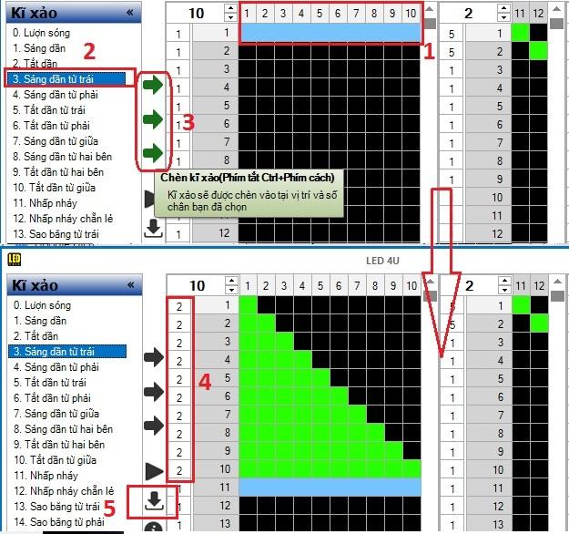 Hưỡng dẫn dowload và lập trình phần mềm Led4U